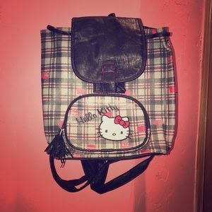 Hello Kitty Pleather Backpack